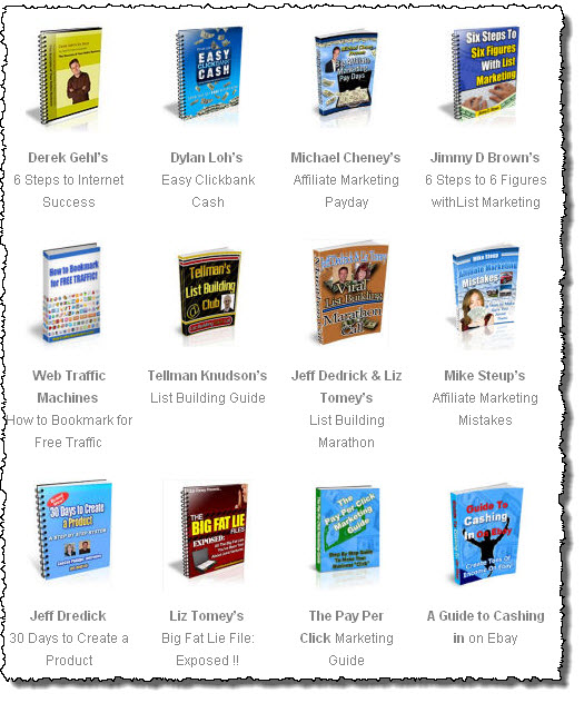 Free Internet Marketing ebooks